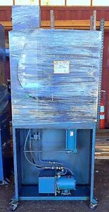 Hydraulic Press 12 Ton Wabash Molding 4 Post Electric Heat Platen Press