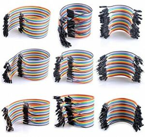 Ucec Breadboard Jumper Wires Ribbon Cables Kit include Female To Male And To