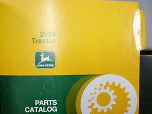 9 John Deere 2020 Tractor Parts Catalog Manual Book Pc971 Pc 971 Vintage