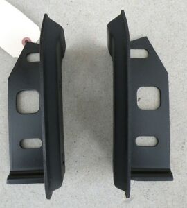 Cadillac Cad Rear Back Bumper Mounting Brackets Support Oem 71 1971