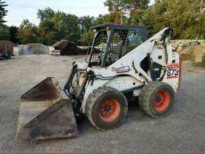 Bobcat 873 F Series Loader Skid Steer Bucket Forks 1 Owner Fleet Maintained
