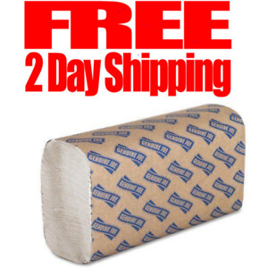 Multifold Towels Pack Napkins Paper Bulk Rolls Case Industrial Janitorial Sheets