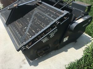 Used Bobcat Landscape Rake 5a Attachment Skid Steer Loader 6