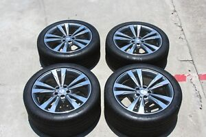 2015 Mercedes S550 Oem Wheels And Tires 19