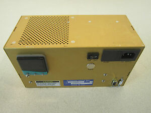 Nanometrics Inc Control Unit P n 7200 020635 Powers Up