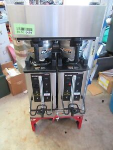 Bunn Dual sh dbc Coffee Maker Commercial Brewer Digital Hot Water Tap