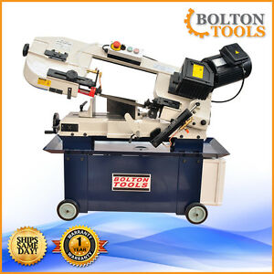 Bolton Tools 7 X 12 Metal Cutting Horizontal Vertical Bandsaw Bs 712g