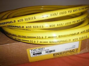 Enerpac Hydraulic Hose Thc 8061 800 Bar 11 600 Psi 20 Ft 6 Meter