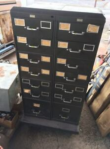 Double Sided Storage Cabinet With Drawers And Shelves