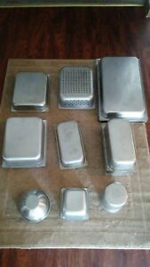 Lot Of 17 Stainless Steel Steam Table Insert Pans Vollrath Sysco New Day Gourmet