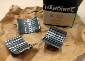 1 New Hardinge M23 Collet Pad Set 2 1 4 Round Serrated Nib make Offer