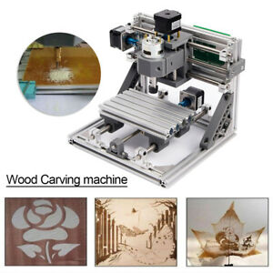 Mini Cnc 1610 Cnc Engraving Machine Pcb Milling Wood Router Kits Diy Accessories