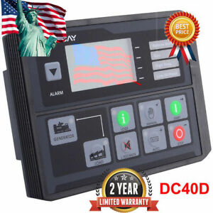 Dc40d Mk3 Generator Controller For Diesel gasoline gas Genset Start Stop