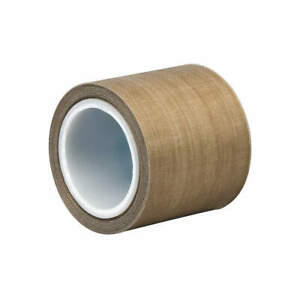 3m Ptfe Impregnated Fiberglass Cloth Tape 3 In X 5 Yd 8 2 Mil brown 5453 Brown