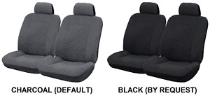 Pair Embossed Microfibre Seat Covers For Mg Mga Rwd Coupe