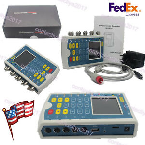 Contec Ms400 Portable Multiparameter Touch Color Patient Monitor Ecg Simulator
