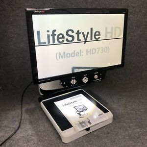 Hims Lifestyle Hd 24 Inch Lcd Color Auto Focus Low Vision Video Magnifier Hd730