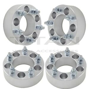 4pcs 1 5 5 Lug Wheel Spacers Adapters 5x120 7 For Chevy Camaro Firebird 82 02