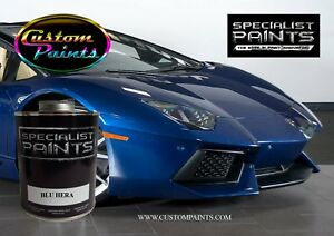 Gallon Of Lamborghini Blu Hera Auto Paint Automotive Hok Ppg Dupont