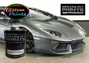 Gallon Of Lamborghini Grigio Estoque Auto Paint Automotive Hok Ppg Dupont