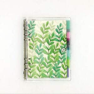 A5 6 ring Loose Leaf Binder Journal From Chris w W 80 Insert Pagesdot 6 Index