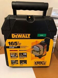 Official Dewalt Dw089k Self Leveling 3 Beam Line Laser New In Retail Packaging