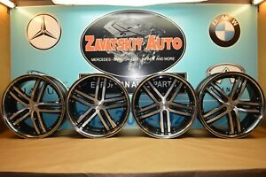 20 Vossen Vvs 085 Wheels Rims Front 20 x9 Rear 20 x10 5 5x114 Set Of 4 Used