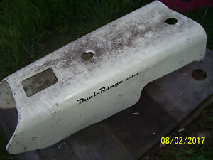 Vintage Ji Case 210 B Tractor rear Hood Assembly 1958