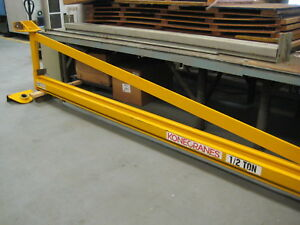 Kone 1 2 Ton Jib Crane Wall column Mounted