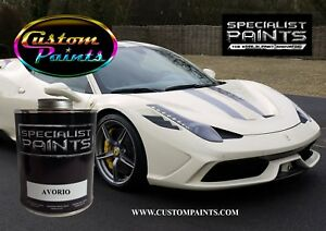 Gallon Kit Of Ferrari Avorio Paint Motorcycle Automotive Ppg