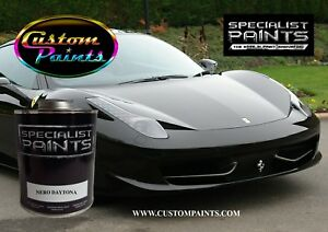 Gallon Of Ferrari Nero Daytona Auto Paint Automotive Hok Ppg Dupont