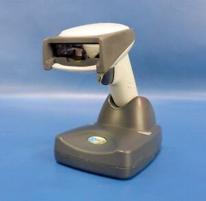 Honeywell Ncr 3820 Wireless Bluetooth Barcode Scanner W paired Base Station