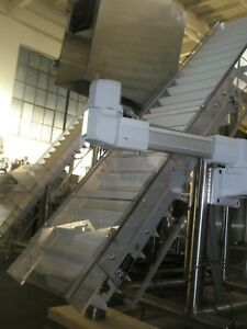 10 6 X 5 Stainless Steel Incline Conveyor