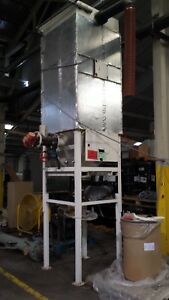 170 Square Foot Mild Steel Baghouse Dust Collector