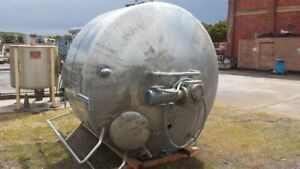 1 000 Gallon Stainless Steel Dci Jacketed And Scrape agitated Tank