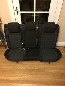 Mk5 Vw Jetta Cloth Seats Front Rear Bench Set Factory Oem