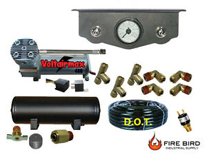 Air Ride Suspension Mini Toggle Valve 1 4 Manual 3 Gal Front Rear Control Xzx