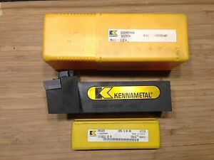 Kennametal Tool Holder Ddqnr 245d 1 1 2 Sq Shank 6 oal Rh 5 Inserts New