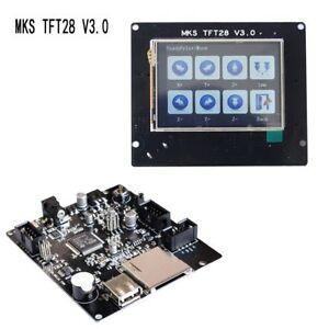 New Ramps V1 4 Full Color Board Mks Tft28 Lcd Controller Touch Screen
