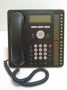 Avaya Ip 1616 1 Digital Display Home Office Business Corded Desk Phone Black Euc