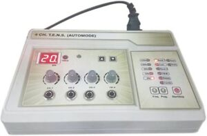 Physiotherapy Electric Therapy Machine T e n s 4 Channel Automode Pain Relif