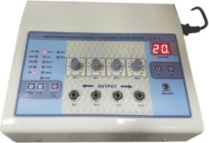 Electrotherapy Physiotherapy 4channel Advanced Microprocessor Controlled Tens