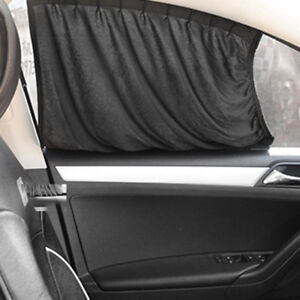Car Sun Shade Auto Interior Accessories Car Curtains For Side Window Black New