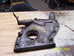 Mf Massey Ferguson 35 50 135 150 With Z134 z145 Engine Front Timing Gear Cover