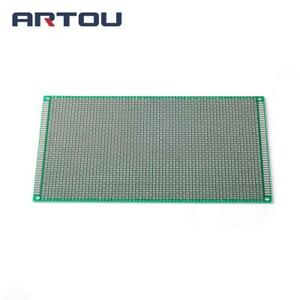 5pcs 12 18cm Double Side Prototype Pcb Sided Tinplate Universal Board