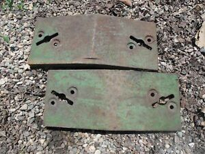 John Deere 10 20 Series Tractor Front Slab Weight R27643