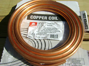 Mueller 5 8 O d X 20 0 040 Wall Type L Soft Copper Tubing