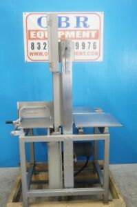 Hobart Commercial 3 Hp Vertical Meat Saw Model 6801