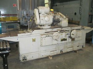 Cylindrical Grinder 16 X 36 Cincinnati Univ 12 Wheel 7 5 Hp Coolant