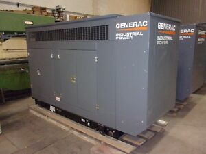 Generac 80kw Industrial Series Standby Generator 80kw 3 Phase 277 480v Lp